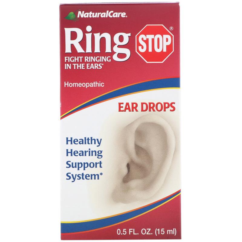 NaturalCare, Ring Stop, Ear Drops, 0.5 fl oz (15 ml)
