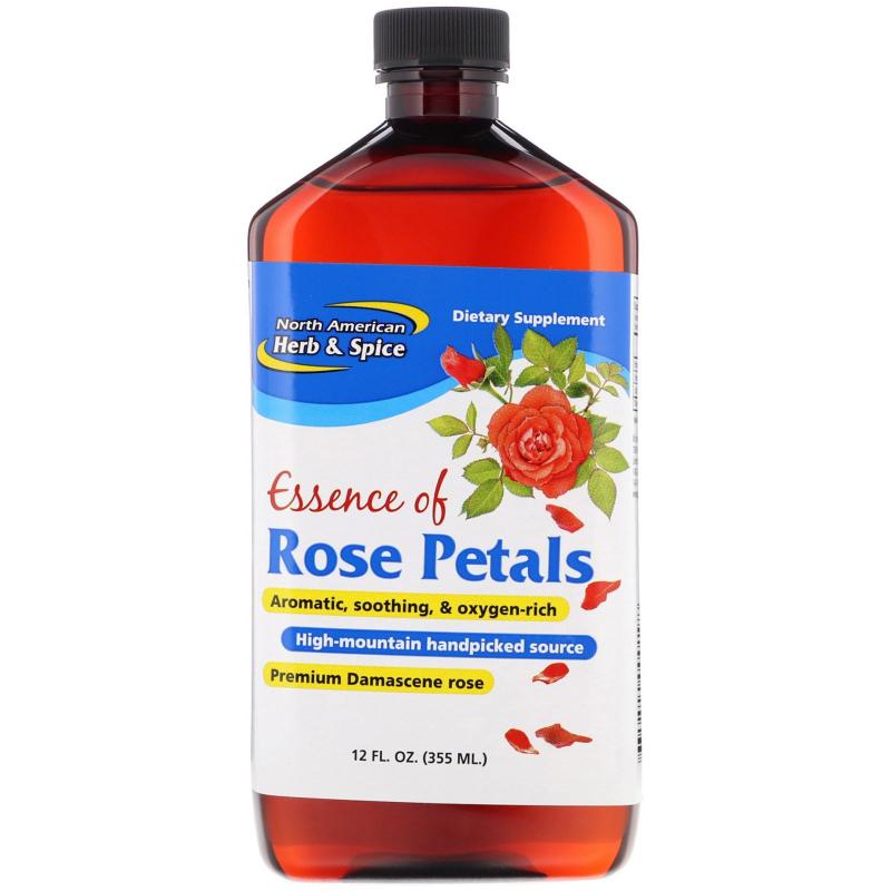 North American Herb & Spice Co., Essence of Rose Petals, 12 fl oz (355 ml)