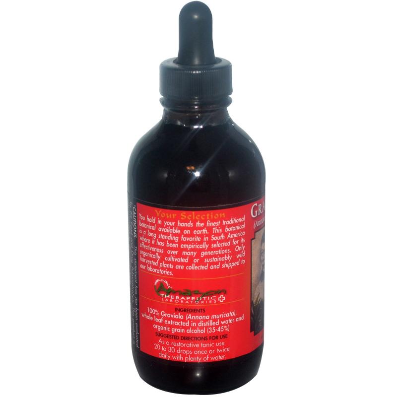 Amazon Therapeutics, Graviola, 4 oz (120 ml)