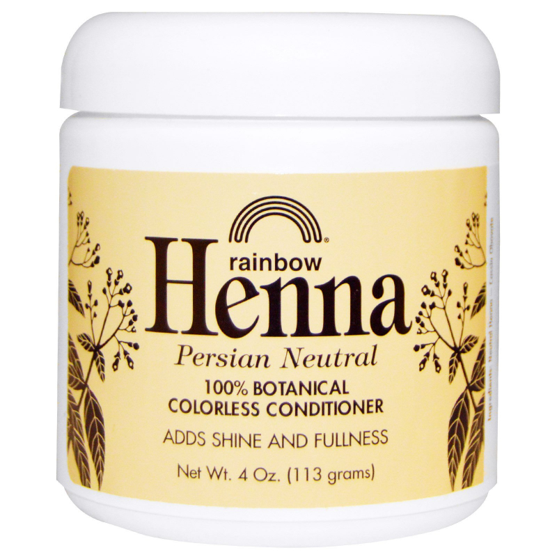 Rainbow Research, Henna, Colorless Conditioner, Neutral, 4 oz (113 g)
