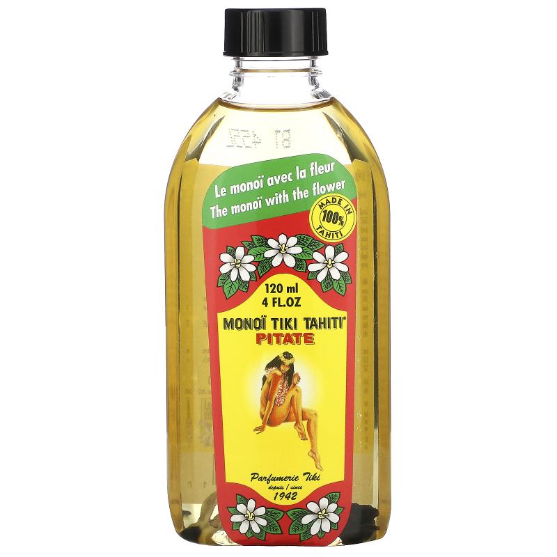 Monoi Tiare Tahiti, Coconut Oil, Pitate (Jasmine), 4 fl oz (120 ml)
