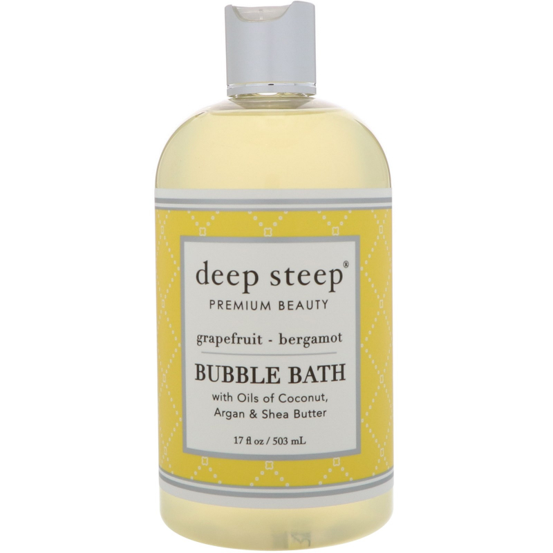 Deep Steep, Bubble Bath, Grapefruit - Bergamot, 17 fl oz (503 ml)