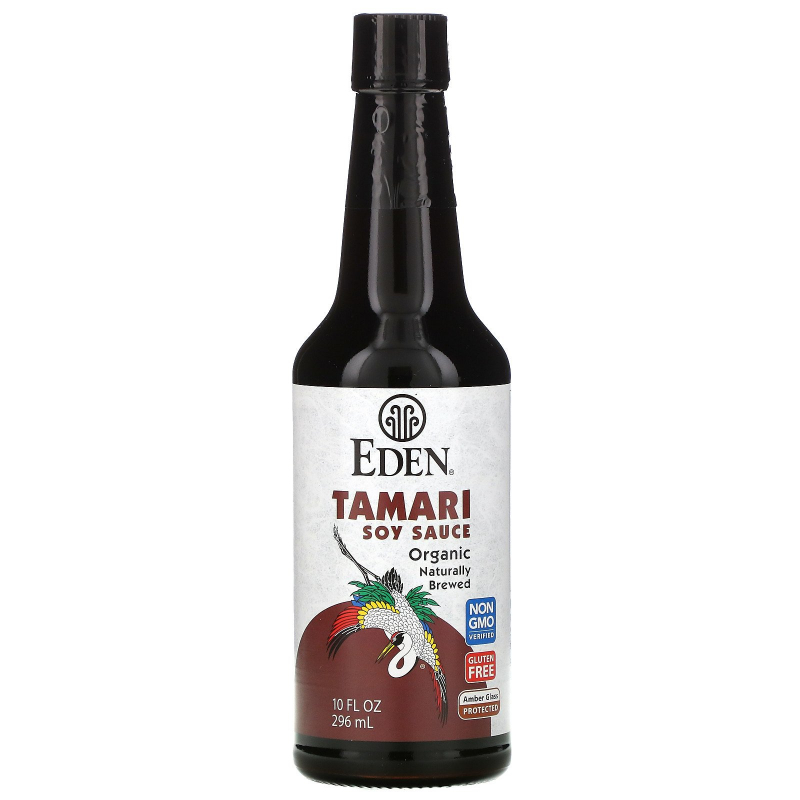 Eden Foods, Organic, Tamari Soy Sauce, 10 fl oz (296 ml)