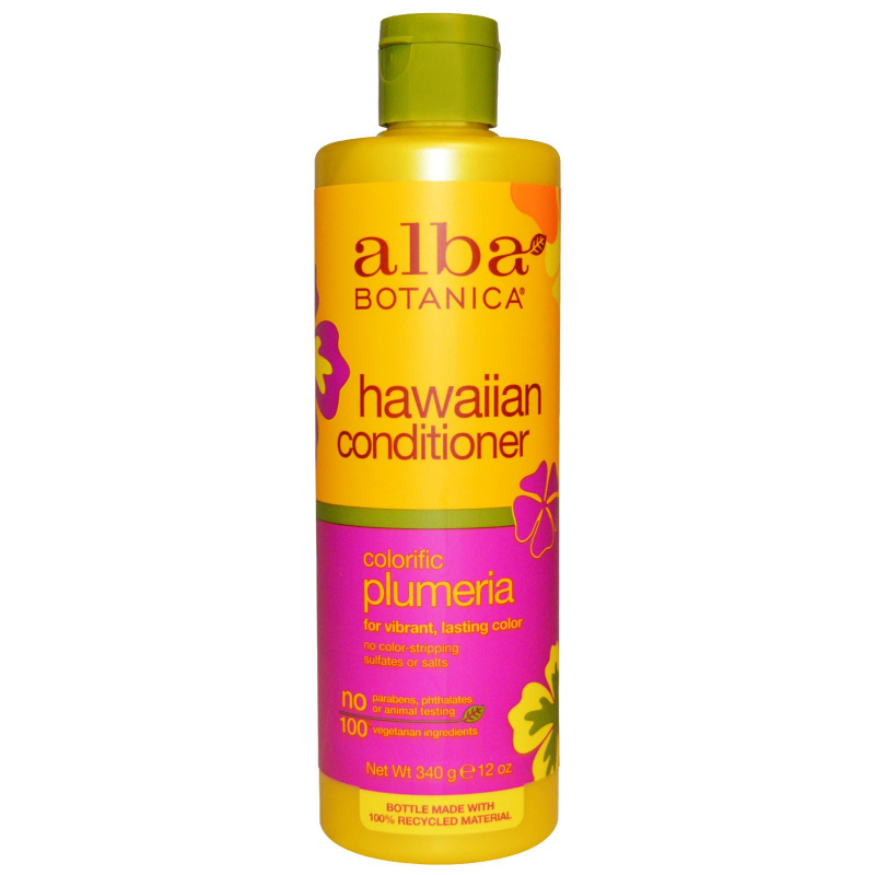 Alba Botanica, Hawaiian Conditioner, Colorific Plumeria, 12 oz (340 g)