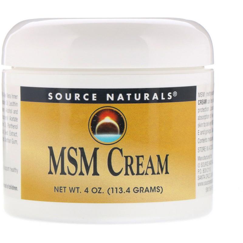 Source Naturals, MSM Cream, 4 oz (113.4 g)