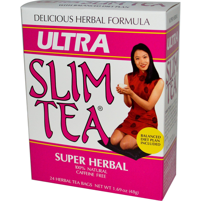 Hobe Labs, Super Herbal Ultra Slim Tea, 24 Herbal Tea Bags, 1.69 oz (48 g)