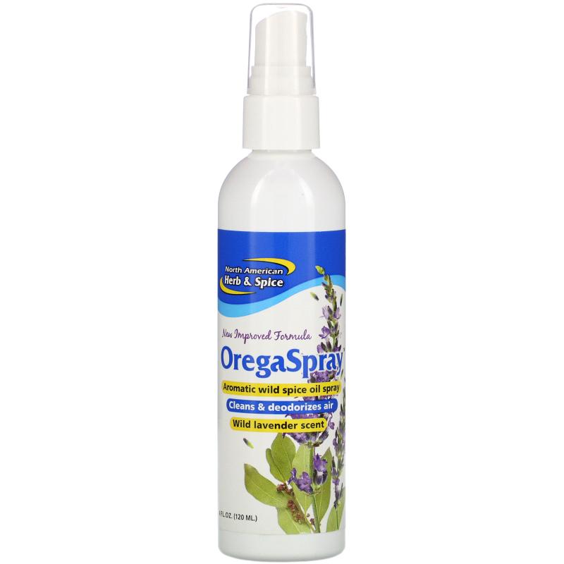 North American Herb & Spice Co., OregaSpray, Aromatic Wild Spice Spray, 4 fl oz (120 ml)