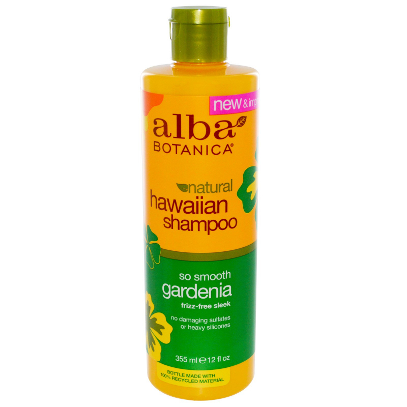 Alba Botanica, Natural Hawaiian Shampoo, So Smooth Gardenia, 12 fl oz (355 ml)