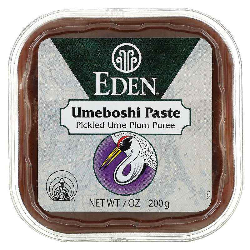 Eden Foods, Selected, Umeboshi Paste, Pickled Plum Puree, 7 oz (200 g)
