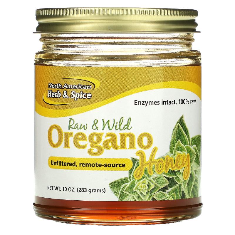 North American Herb & Spice Co., Wild Oregano Honey, 9.40 oz (266 g)