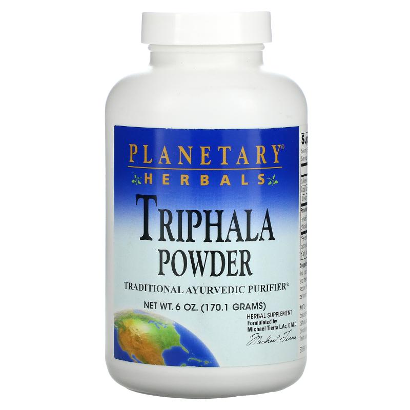 Planetary Herbals, Triphala, Powder, 6 oz (170.1 g)