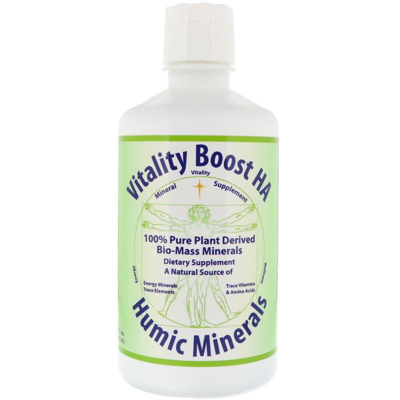 Morningstar Minerals, Vitality Boost HA, Humic Minerals, 32 fl oz (946 ml)