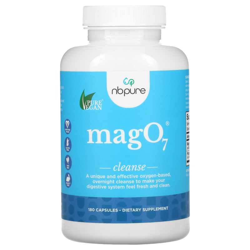 Aerobic Life, Mag 07, The Ultimate Oxygenating Digestive System Cleanser, 180 Vegetable Capsules