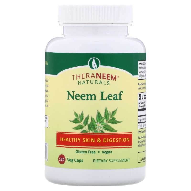 Organix South, TheraNeem Naturals, Neem Leaf, Healthy Skin and Digestion, 120 Veggie Caps