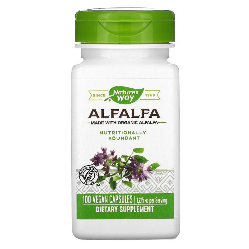 Nature's Way, Alfalfa Young Harvest, 405 mg, 100 Vegetarian Capsules
