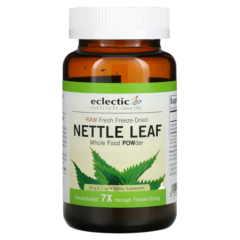 Eclectic Institute, Nettle Leaf, Whole Food POWder, 2.1 oz (60 g)