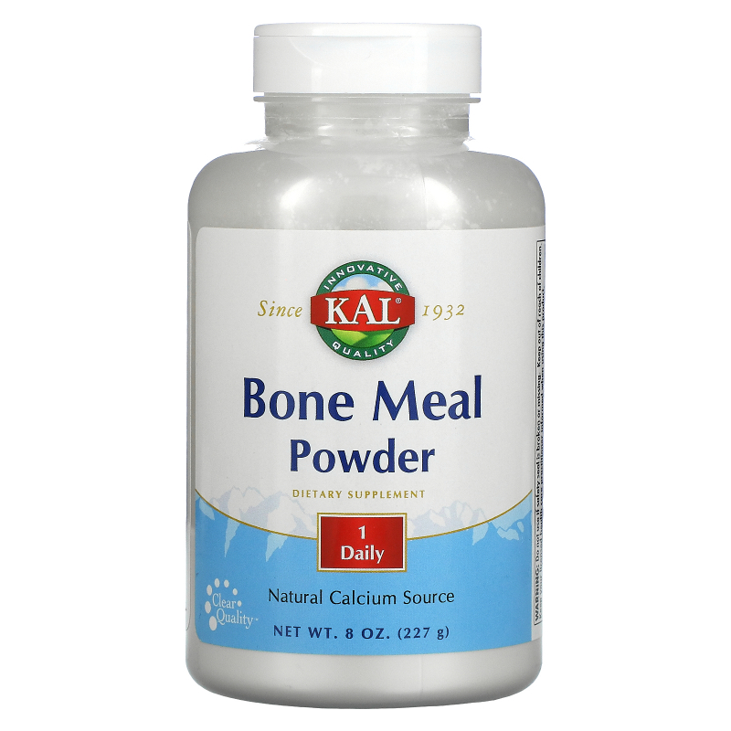 KAL, Bone Meal Powder, 8 oz (227 g)