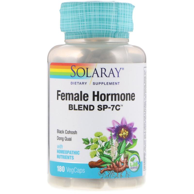 Solaray, Female Hormone Blend SP-7C, 180 VegCaps