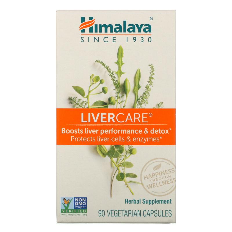 Himalaya, LiverCare, 90 Vegetarian Capsules