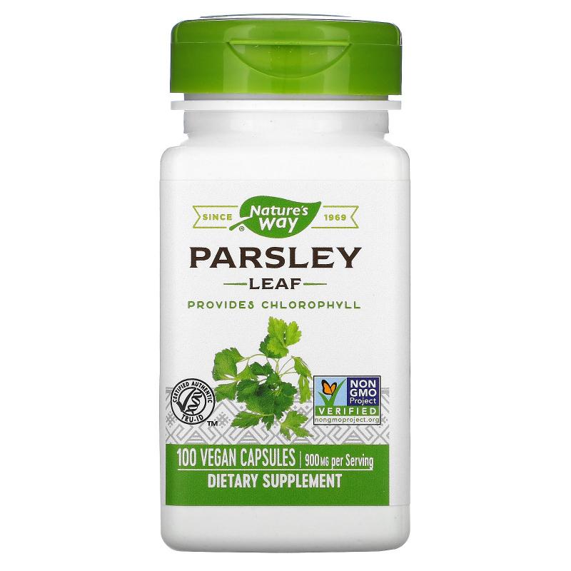 Nature's Way, Parsley Leaf, 450 mg, 100 Vegetarian Capsules