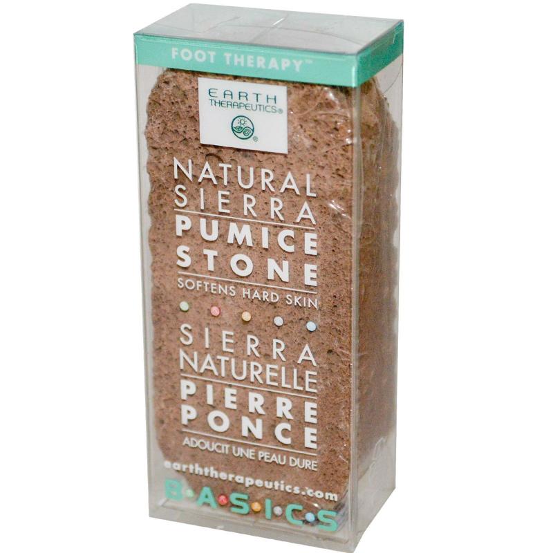 Earth Therapeutics, Basics, Natural Sierra, Pumice Stone, 1 Stone
