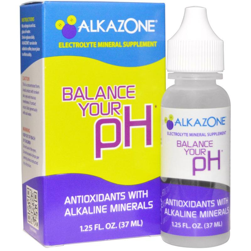 Alkazone, Balance Your pH, Antioxidants with Alkaline Minerals, 1.25 fl oz (37 ml)
