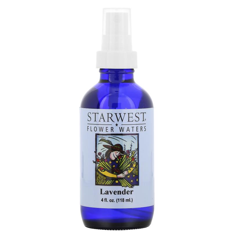Starwest Botanicals, Flower Waters, Lavender, 4 fl oz (118 ml)