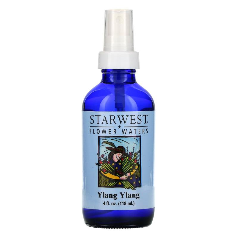 Starwest Botanicals, Flower Waters, Ylang Ylang, 4 fl oz (118 ml)