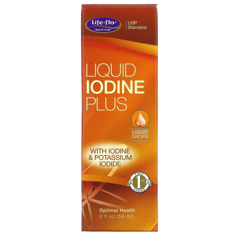 Life-flo, Liquid Iodine Plus, 2 fl oz (59 ml)