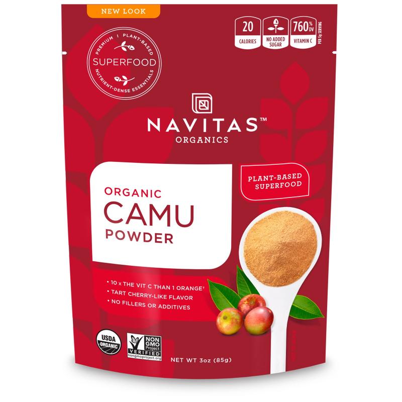 Navitas Organics, Organic, Camu Powder , 3 oz (85 g)
