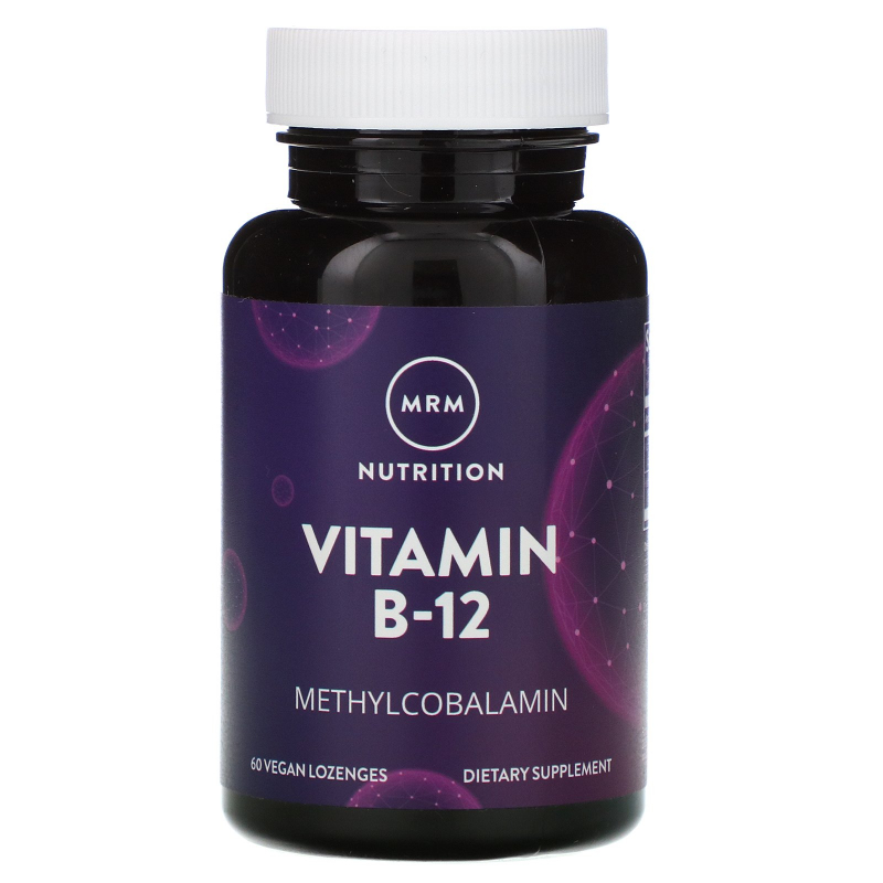 MRM, B-12, Methylcobalamin, 2,000 mcg, 60 Vegan Lozenges