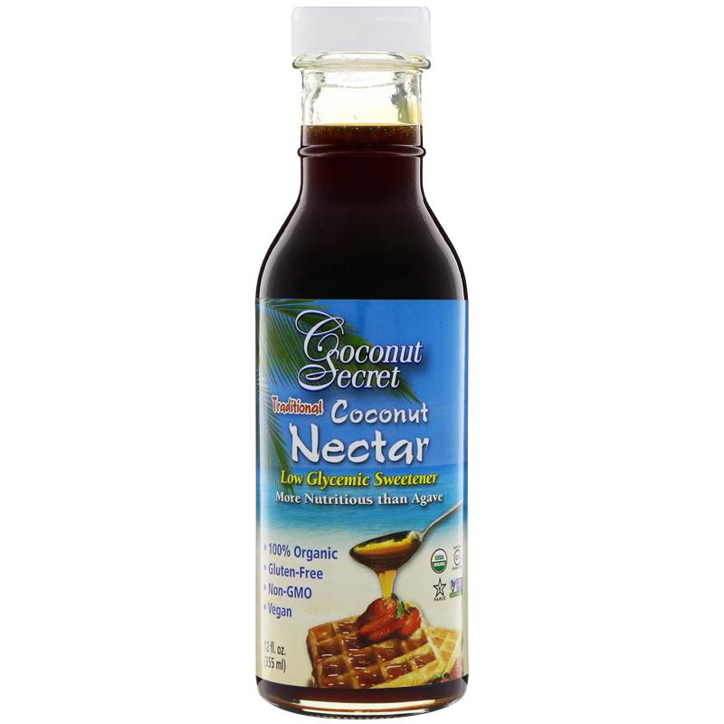 Coconut Secret, Traditional Coconut Nectar, Low Glycemic Sweetener, 12 fl oz (355 ml)