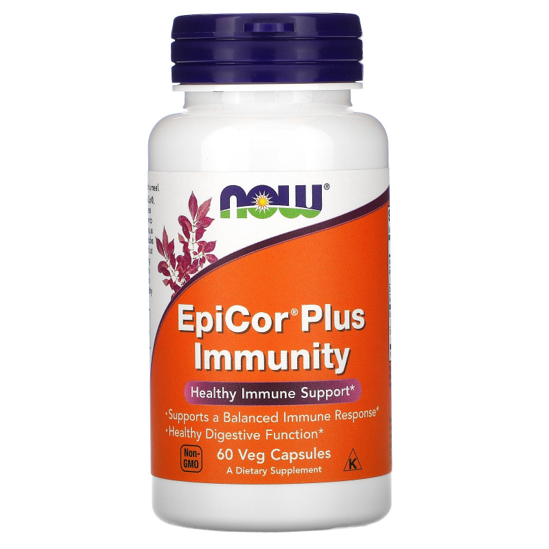 Now Foods, EpiCor Plus Immunity, 60 Veg Capsules