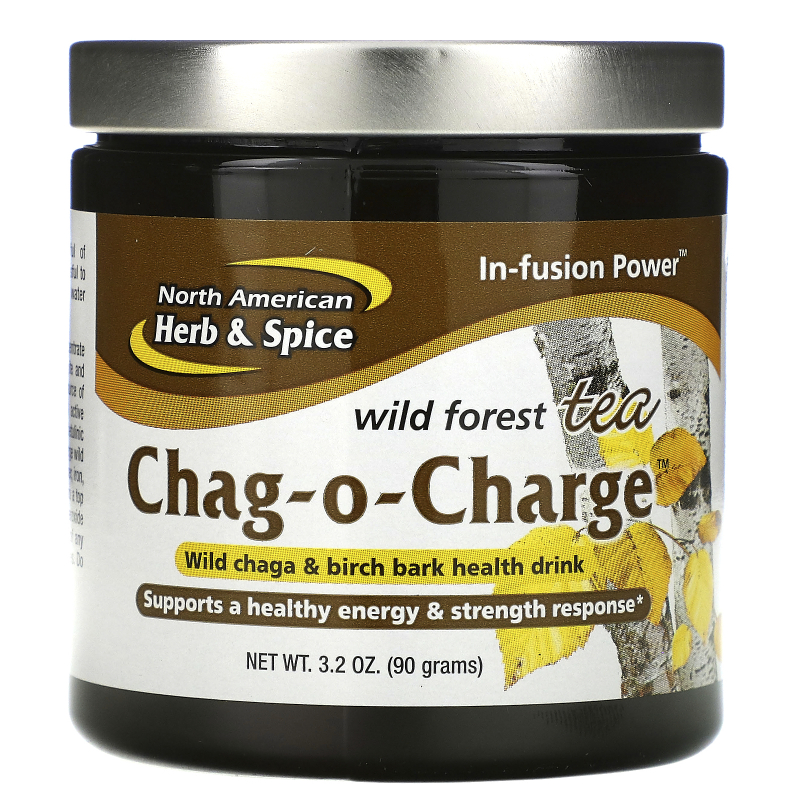 North American Herb & Spice Co., Chag-O-Charge, Wild Forest Tea, 3.2 oz (90 g)