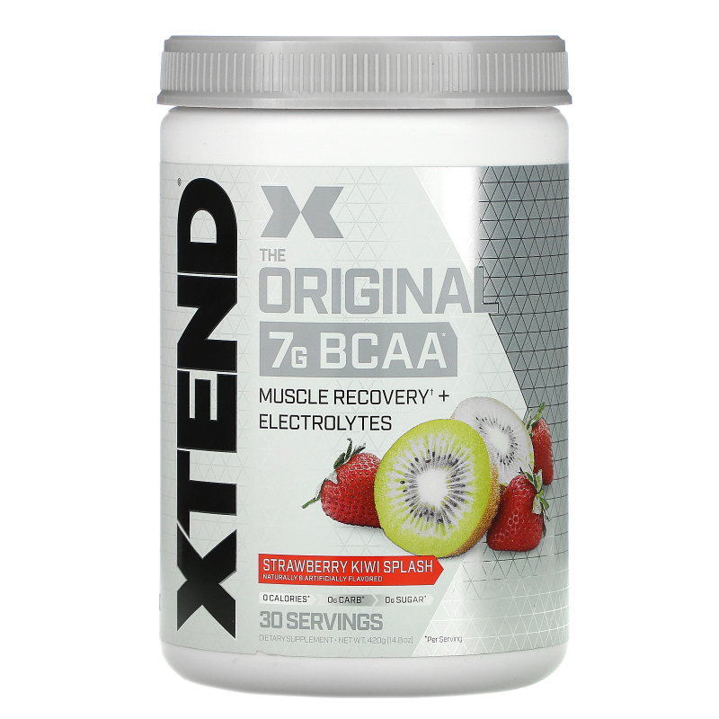 Scivation, Xtend, The Original 7G BCAA, Strawberry Kiwi Splash, 14.8 oz (420 g)