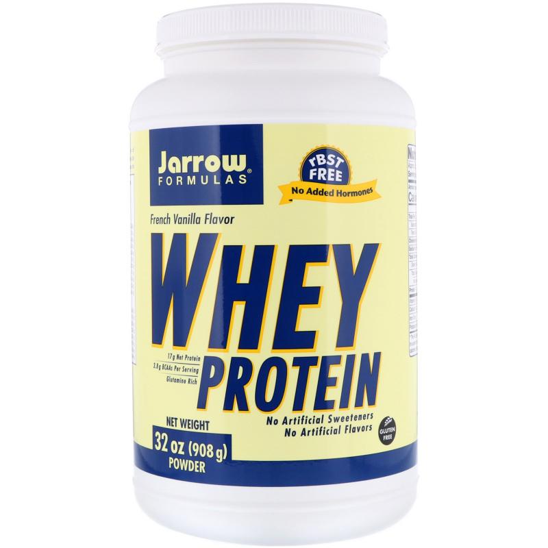 Jarrow Formulas, Whey Protein, French Vanilla, 2 lbs (908 g)