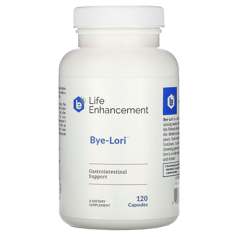 Life Enhancement, Bye-Lori , 120 Capsules