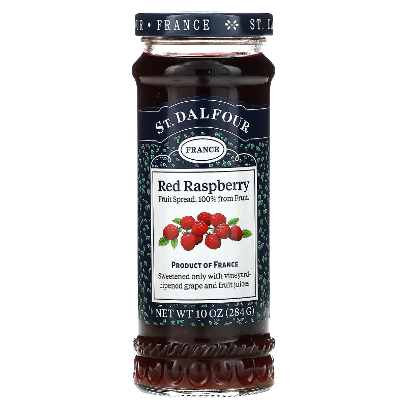 St. Dalfour, Red Raspberry, Fruit Spread, 10 oz (284 g)