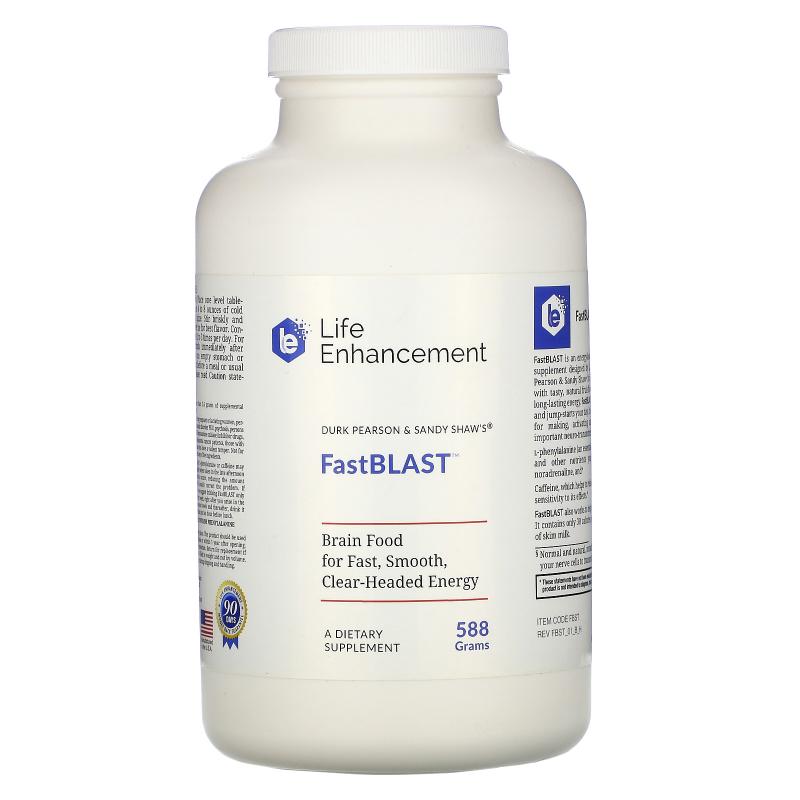Life Enhancement, Durk Pearson & Sandy Shaw, FastBlast, 1.3 lbs (588 g)
