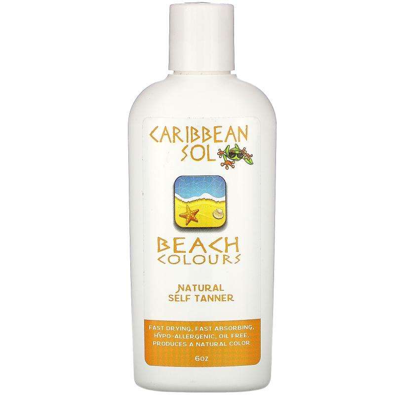 Caribbean Solutions, Beach Colours, Natural Self Tanner, 6 oz