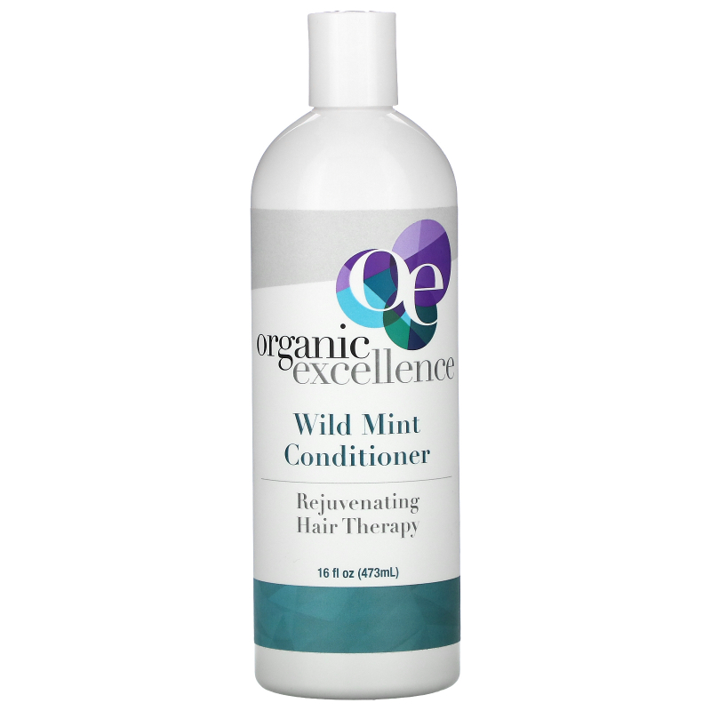 Organic Excellence, Conditioner, Revitalizing Hair Therapy, Wild Mint, 16 fl oz (473 ml)