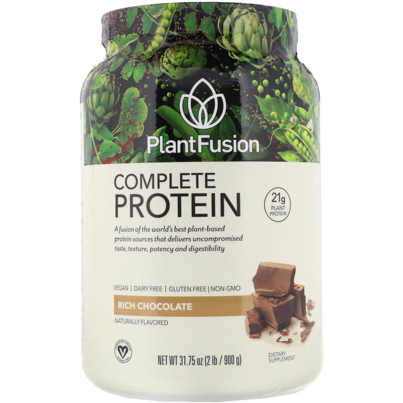 PlantFusion, Complete Plant Protein, Chocolate, 2 lb (908 g)