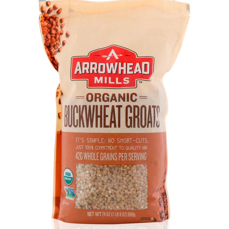 Arrowhead Mills, Organic, Buckwheat Groats, 1.5 lbs (680 g)