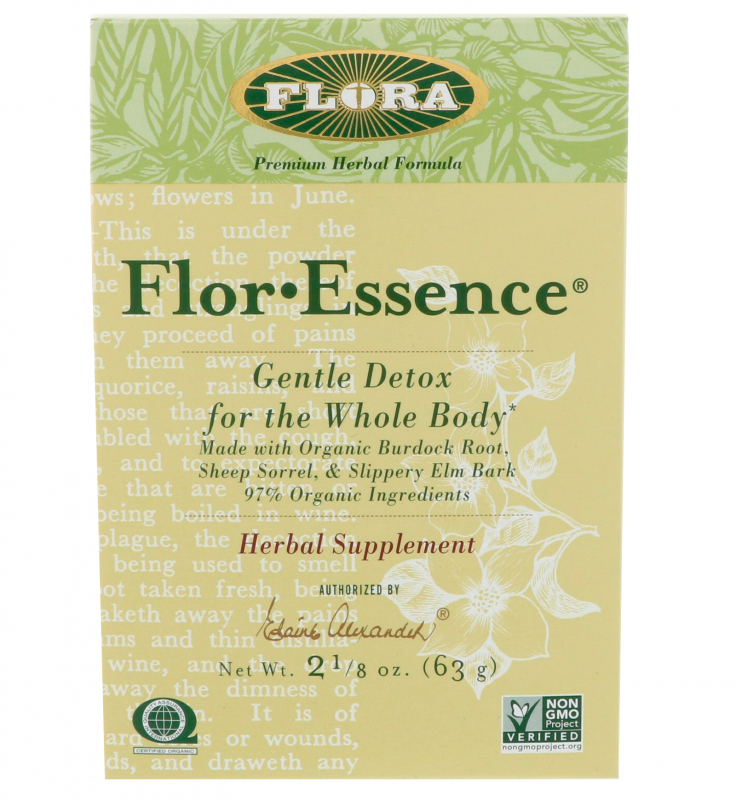 Flora, Flor·Essence, Gentle Detox for the Whole Body, 2 1/8 oz (63 g)