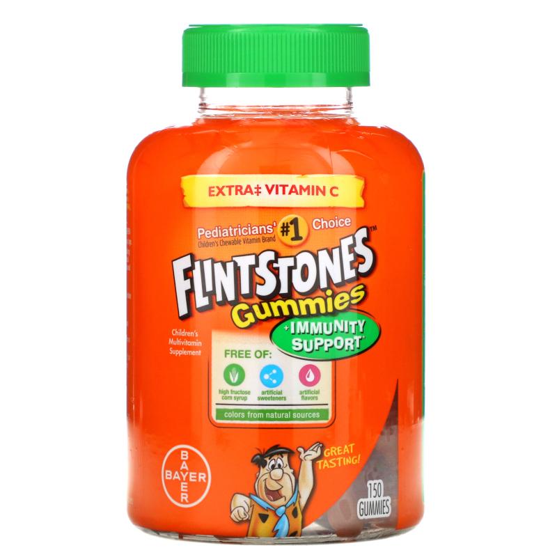 Flintstones, Children's Multivitamin, Plus Immune Support, 150 Gummies