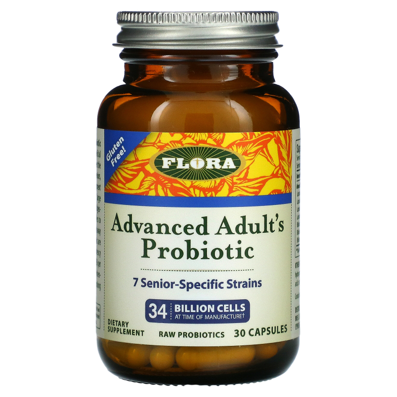 Flora, Udo's Choice, Advanced Adult's Probiotic, 30 Capsules
