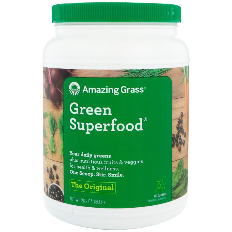 Amazing Grass, Green Superfood, The Original, 1.7 lbs (800 g)