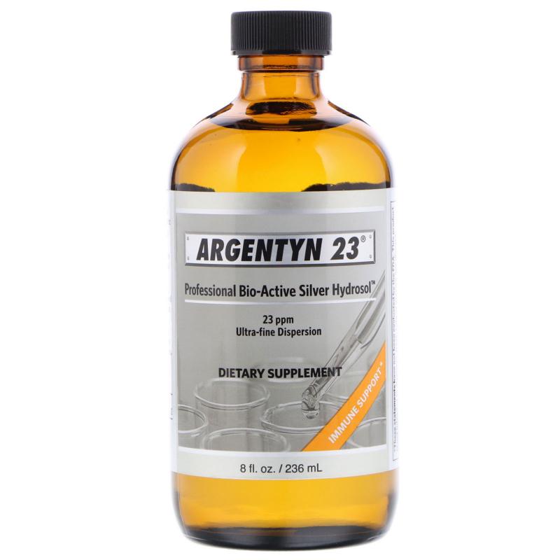 Allergy Research Group, Argentyn 23, Professional Bio-Active Silver Hydrosol, 8 fl oz (236 ml)