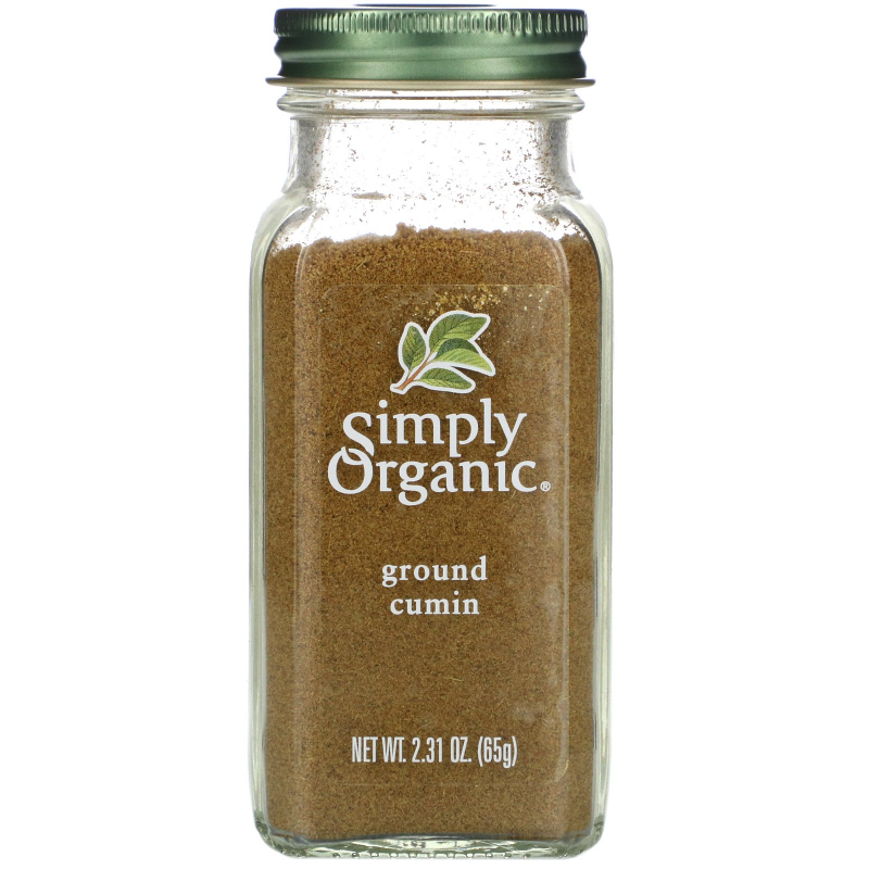 Simply Organic, Cumin, 2.31 oz (65 g)