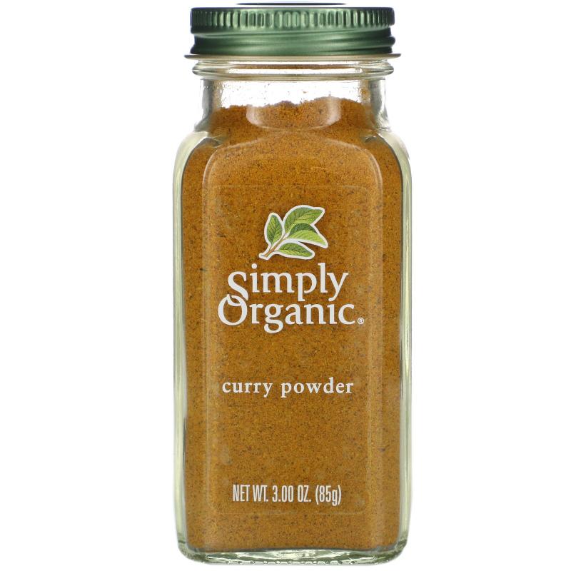 Simply Organic, Curry Powder, 3.00 oz (85 g)
